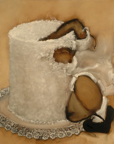 Kim Dingle, Untitled, Cake, 2007