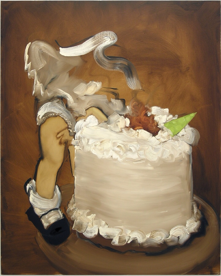 Kim Dingle, Untitled Cake
