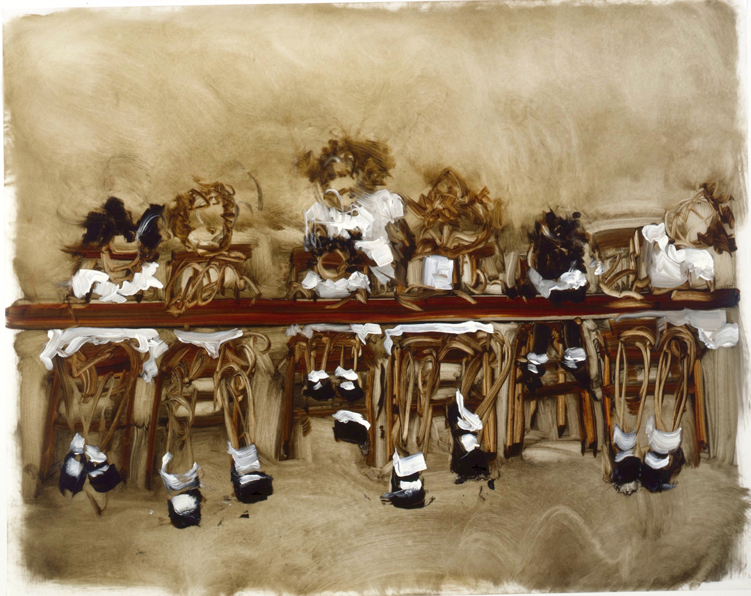 Kim Dingle, Studies For Last Supper