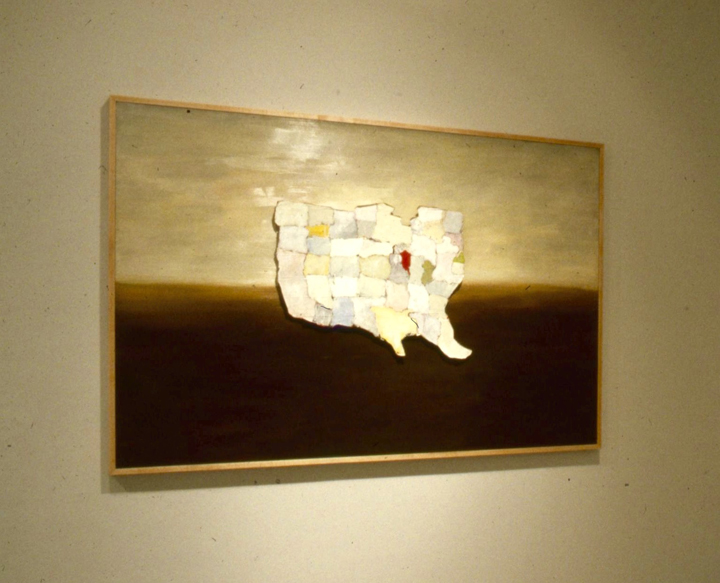 Kim Dingle, Maps, Contemporary Art