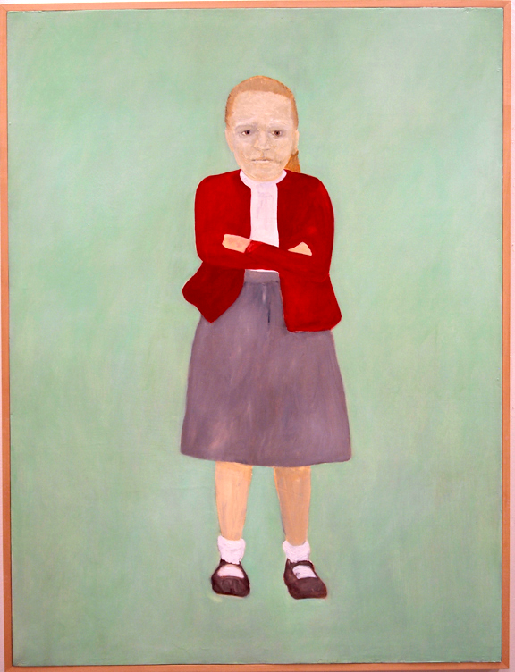 Kim Dingle, Portrait of Ed Sullivan as a Young Girl, 1990